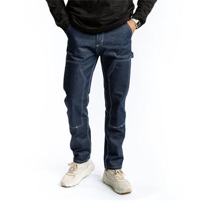 Tapered fit | Jeans | Blå